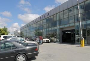AVTOKLİNİKANIN ərazisi- FOTO