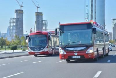 Avtobusların hərəkət sxemində dəyişiklik edilir - Bu gündən
