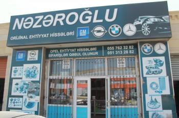 Nəzəroğlu Ehtiyat Hissələri