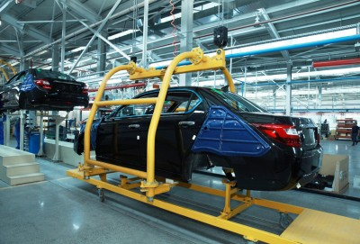 3 ayda 283 ədəd minik avtomobili istehsal olunub