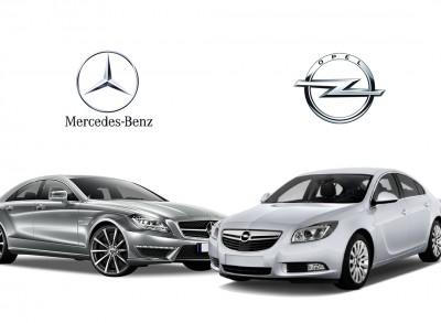Opel və Mercedes