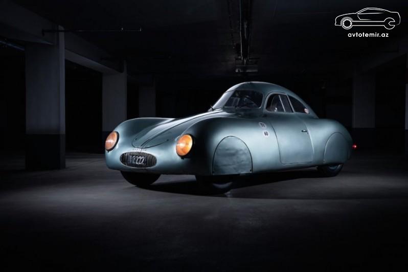 Porsche şirkəti Type 64 modelini markanın ilk avtomobili saymır