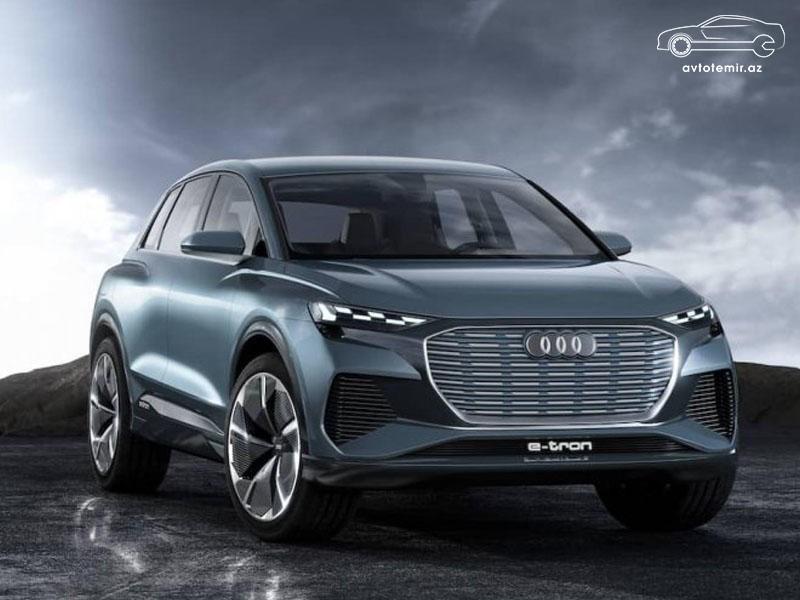 Audi Q4 modelinin alıcıları fənərlərin naxışını seçə bilərlər