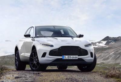 Aston Martin DBX modelinin yeni tizerini dərc edib