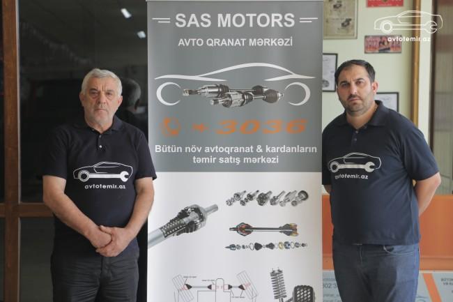 Saşa və Aqil (Bakı)