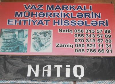 Lada Ehtiyat Hissələri