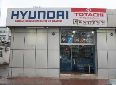 Hyundai Totachi Gənclik - Ehtiyat hissələri