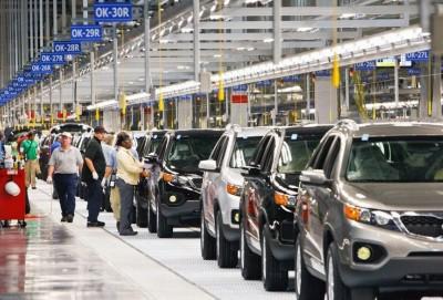 Koreya avtomobil istehsalını kəskin azaldıb