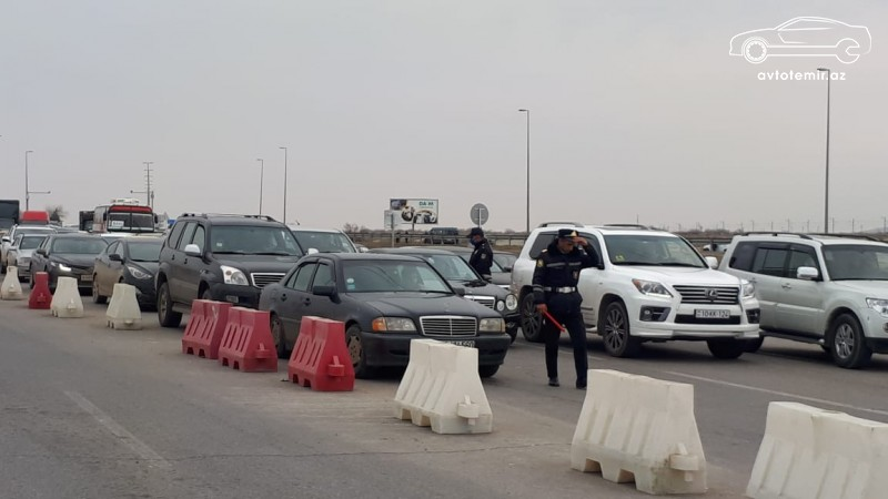 Yol polisindən Bakıya giriş-çıxışla bağlı AÇIQLAMA YENİ