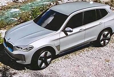 BMW iX3 elektrokarının seriya variantının dizaynı açıqlanıb