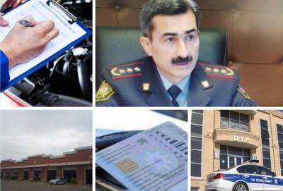 Sürücülük vəsiqəsi, texniki baxış və qeydiyyat barədə - AÇIQLAMA