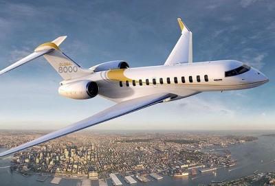 Çexlər Bombardier Global 8000 üçün interyer hazırlayıblar