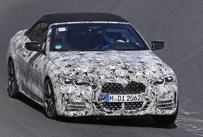 BMW 4 Series Convertible Nürburqrinqdə sınaqdan keçirilir