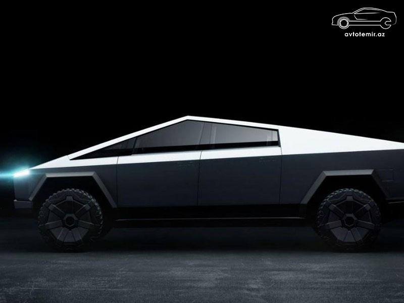 Tesla Cybertruck-ın satış versiyası bir qədər kiçik olacaq və hətta suda üzə də biləcək