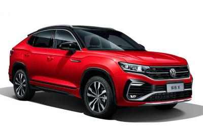 VW Tayron kupeşəkilli versiyaya və hibrid aqreqata sahib olub