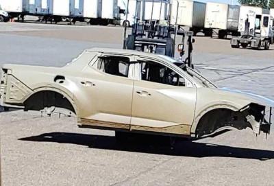 Hyundai Santa Cruz pikapının daha bir şəkli peyda olub