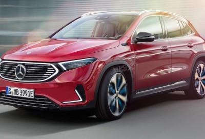 Mercedes-Benz EQA modelinin eksklüziv şəkilləri dərc edilib