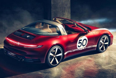 Porsche yeni Heritage Design seriyasından olan ilk sportkarı təqdim edib