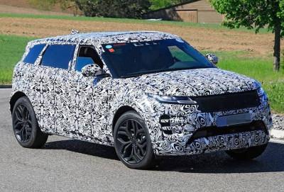 Range Rover Evoque uzunbazalı versiyada buraxılacaq