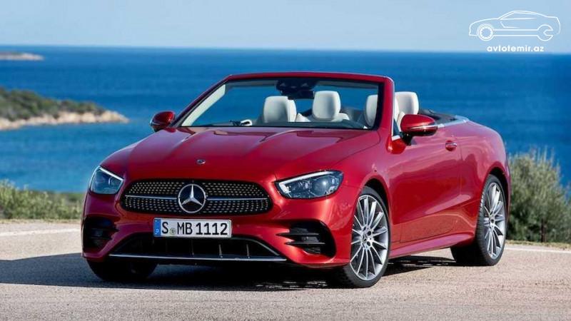 Yenilənmiş Mercedes-Benz E-Class kupe və kabrioleti təqdim edilib