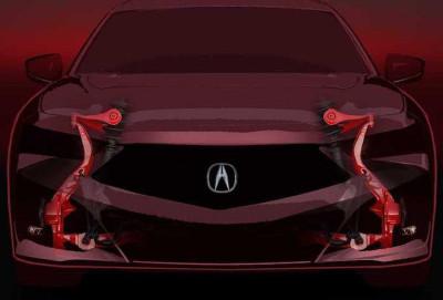Yeni Acura TLX sedanının asqısı haqqında məlumat peyda olub