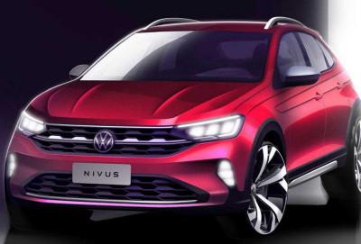 Volkswagen Nivus - son tizer