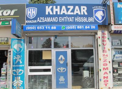 Khazar Azsamand Saipa ehtiyat hissələri