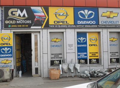 Gold Motors - Ehtiyat hissələri mağazası