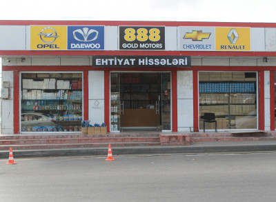 Gold Motors 888 - Ehtiyat hissələri mağazası