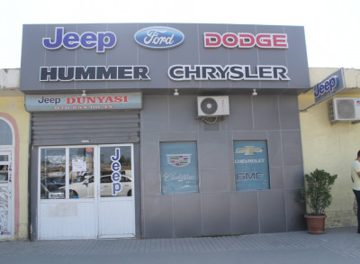 Jeep Dünyası - Ehtiyat hissələri