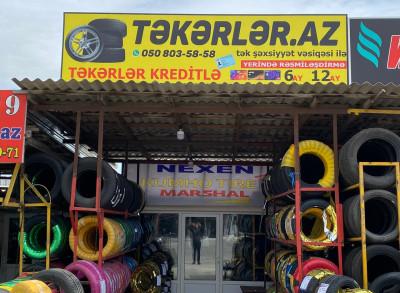 Təkərlər - Təkər mağazası
