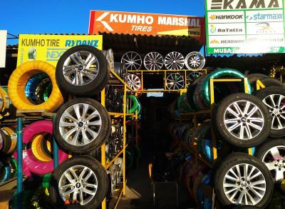 Kumho Marshal - Təkər mağazası