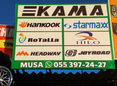 Kama - Təkər mağazası