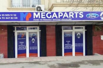 Megaparts Renault və Ford - Ehtiyat hissələri