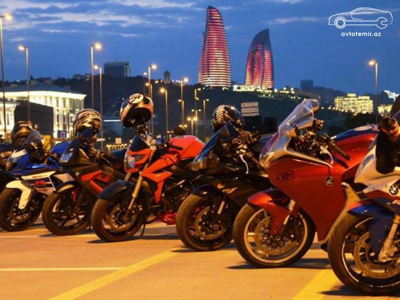 Bakıda motosiklet bazarı - Harda, necə, neçəyə?