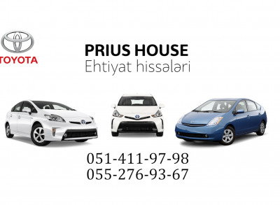 Prius House - Ehtiyat hissələri