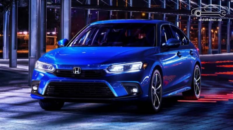 Honda yeni Civic modelini təqdim edib
