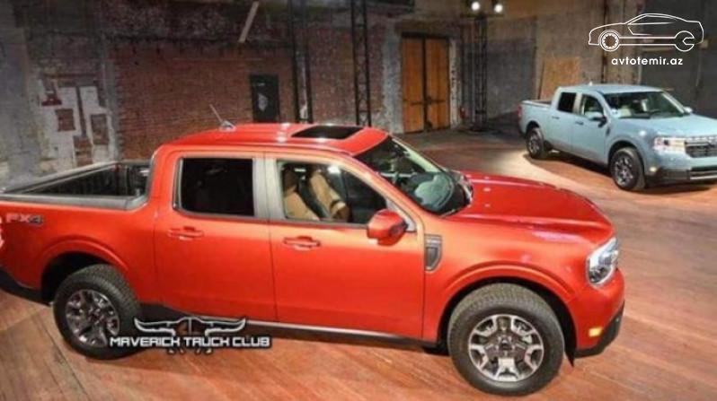"""""""Ford"""" yeni modelinin görüntülərini yaydı"""