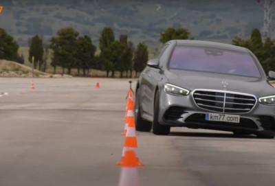 """Yeni nəsil Mercedes-Benz S-Class """"sığır testini"""" keçə bilməyib - VİDEO"""