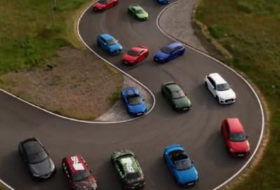 """""""Audi RS3"""" modellərinin görüntüləri olan videoçarxı dərc edib - FOTO - VİDEO"""
