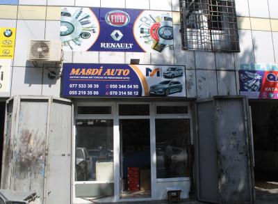 Masdi Auto - Ehtiyat hissələri