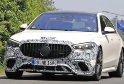 "Yeni ""Mercedes"" modelinin görüntüləri yayılıb"