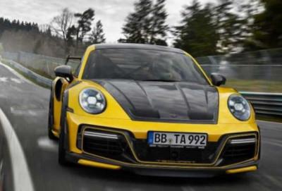 """Yeni """"Porsche 911 Turbo"""" modelinin unikal super gücü"""