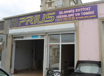 Prius - İşlənmiş ehtiyat hissələri