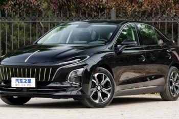 """""""Hongqi"""" yeni elektrik sedanını təqdim edib"""