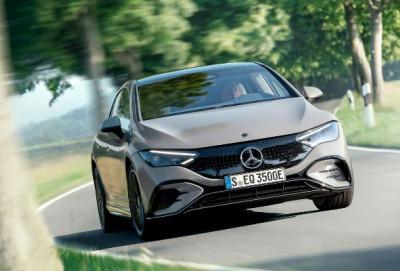 Mercedes yeni elektrikli EQE modelini təqdim edib