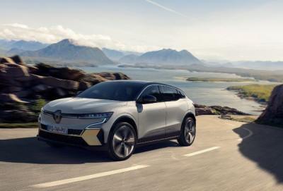 Yeni elektrikli Renault Megane E-TECH