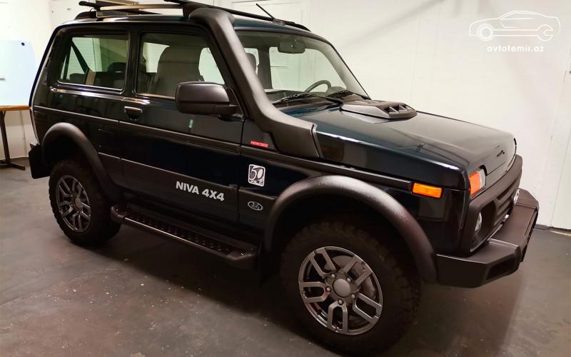 Almaniyada Lada Niva Legend -in ilk nüsxəsi çıxdı.